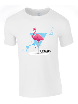 The Flamingo - Ultra White Unisex T-Shirt