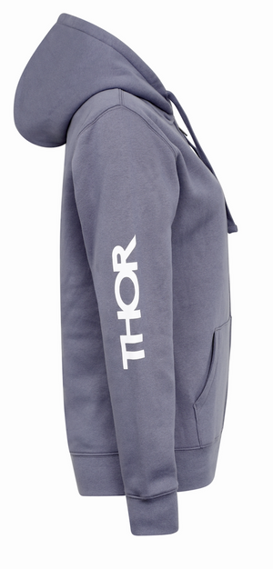 Ladies Cold War Hoody - Light Grey