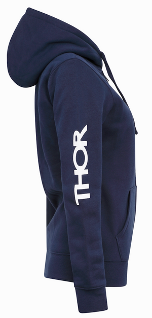 Ladies Cold War Hoody - Navy Blue