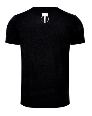Men's Throwing Star T-Shirt - Jet Black
