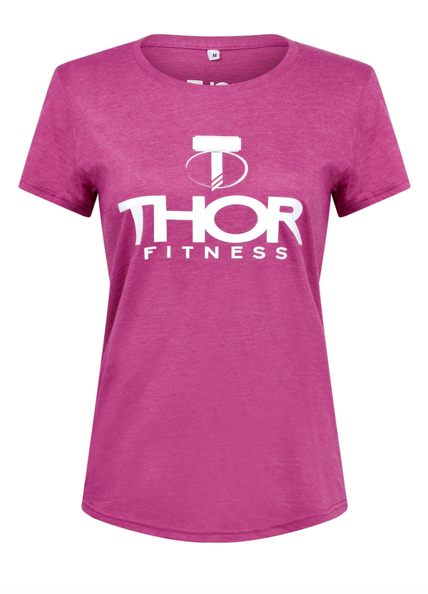 Ladies Team Thor T-Shirt - Raspberry
