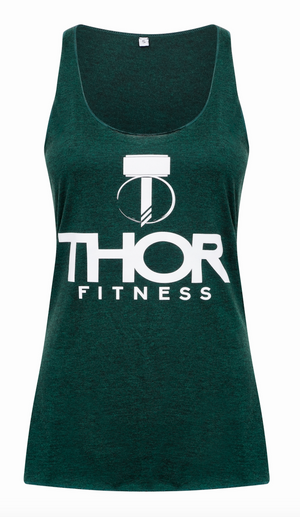 Ladies Thor Tank - Emerald Green