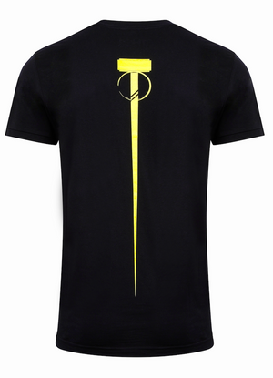 Men's Dual T-Shirt - Jet Black