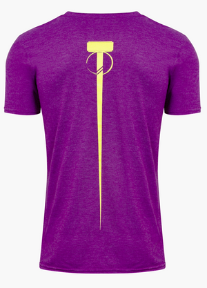 Men's Dual T-Shirt - Royal Purple