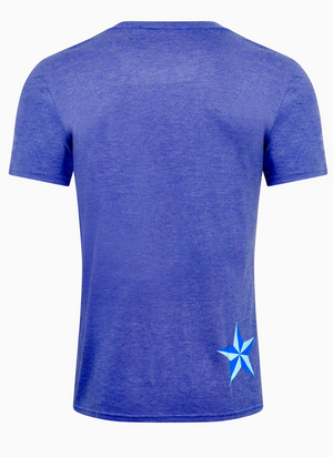 Men's BattleStar T-Shirt - Heather Purple