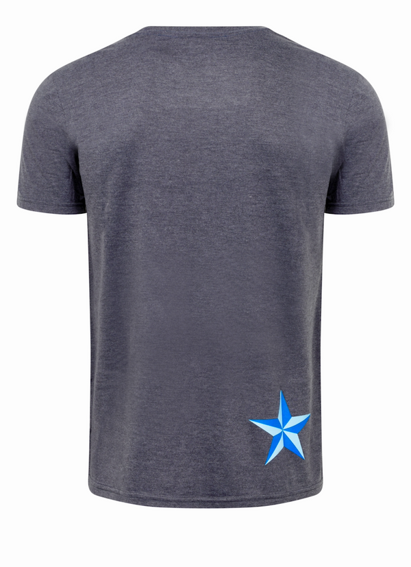 Men's BattleStar T-Shirt - Dark Grey