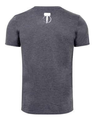 Men's Throwing Star T-Shirt - Dark Grey