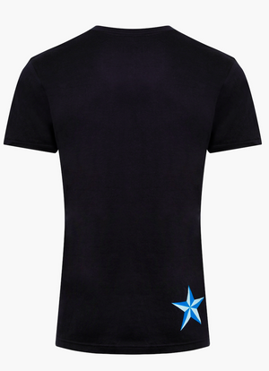 Men's BattleStar T-Shirt - Jet Black