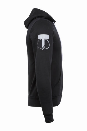 Unisex Synergy Hoodies - Jet Black