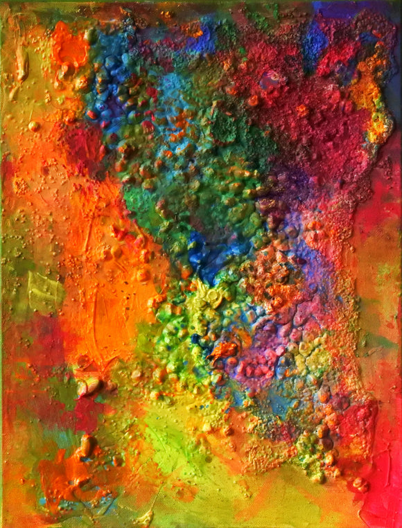 Matter Painting 40 - SOLD - by Pamela Rys