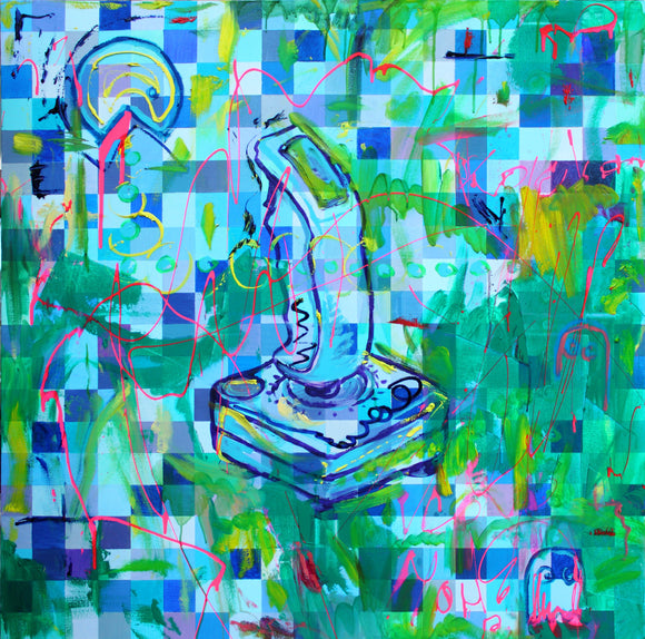 Joystick - SOLD - by Pamela Rys & MK Anisko