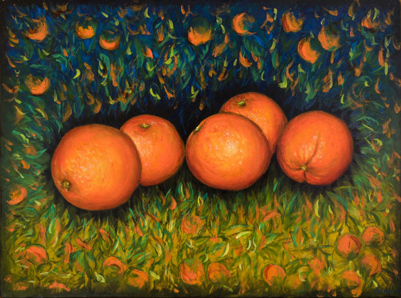 Oranges - SOLD - by MK Anisko