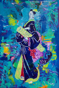 Streetwalker by Moonlight - SOLD - by MK Anisko