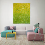 "Botanical Blooms : 47"" x 36"" - 120 x 100 cm - by Pamela Rys"