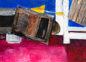 "Still Life with Shoe Stretcher : 20"" x 28"" - 50 x 70 cm - by Pamela Rys"