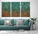 "The Enlightenment : 41"" x 73"" - 104 x 186 cm : TRIPTYCH by Pamela Rys"