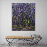 Purple Forest - SOLD - by MK Anisko