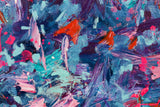 "Blue and Pink : 31"" x 24"" - 80 x 60 cm by MK Anisko"