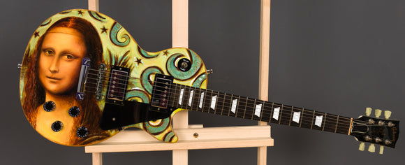 Mona Lisa Guitar On Gibson Les Paul Studio : 13