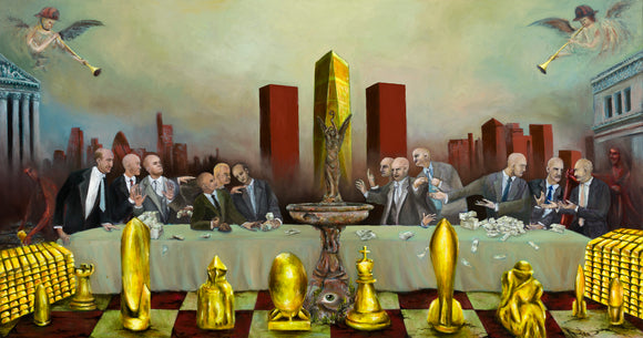 The Last Supper on Wall Street : 39