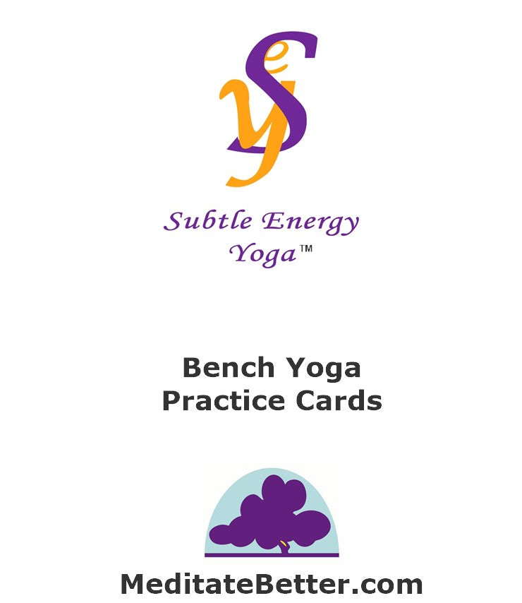 Bench Yoga Practice Cards