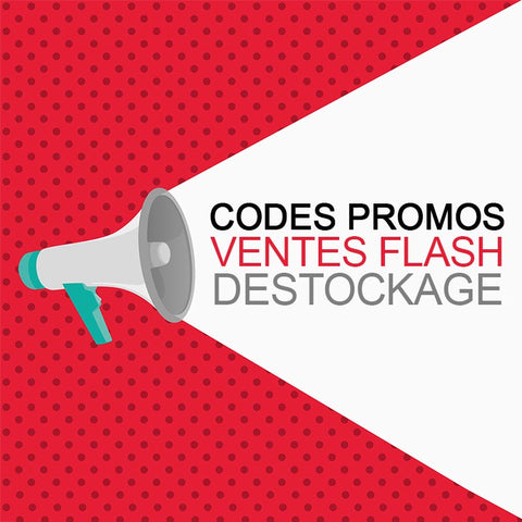 Destockage, vente flash et promos
