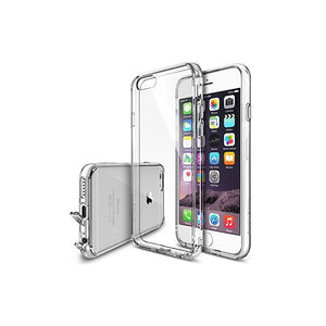Coque transparente en silicone pour iPhone 6 plus / 6s plus
