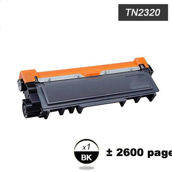 Toner équivalent toner tn2320 pour imprimante Laser Brother