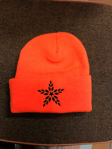Blaze Orange Hopstar Beanie