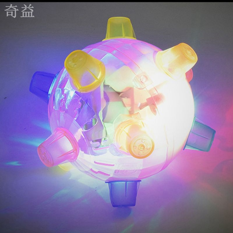 Hot Sale Random Color Jumping Activation LED Light Ball Light Music