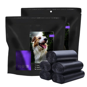 75 Pcs/lot Pet Waste Bags, Especially for Walking Dogs For Outdoor