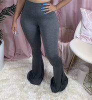 Sexy Casual Stretch Tight Flared Pants