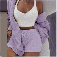 Plush comfty 3-piece set