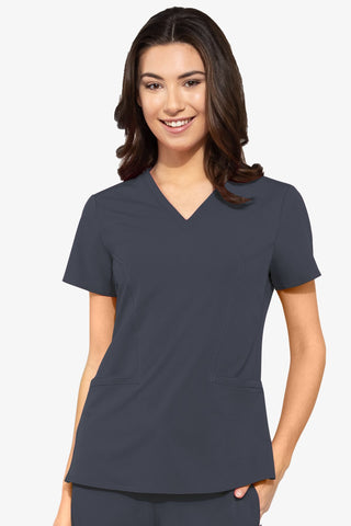8434 DOUBLE V NECK TOP