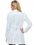 9652  TAILORED EMPIRE MID LENGTH LAB COAT