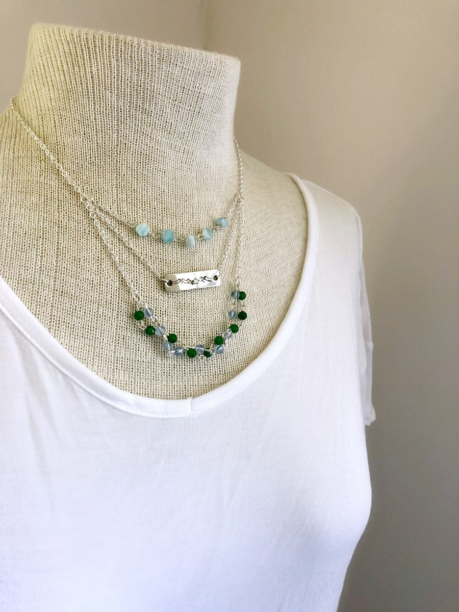 WV Nature Dainty Layered Necklace
