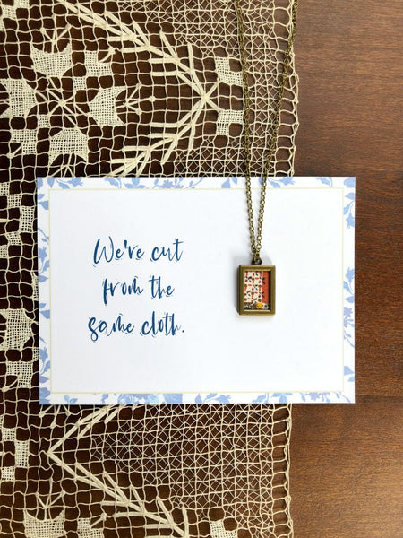 CUT FROM THE SAME CLOTH | Rustic Browns Necklaces Set