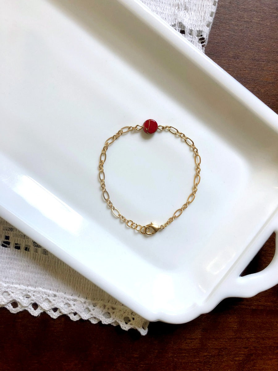 I AM WHOLE Dainty Bracelet | Choose Your Color