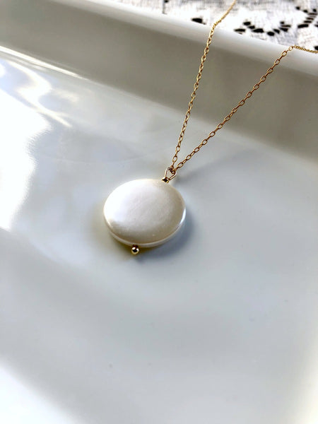 I AM CALM Natural Pearl Necklace