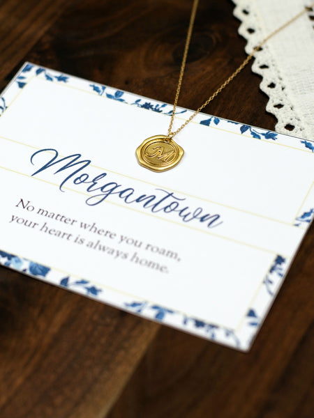 MORGANTOWN West Virginia Necklace