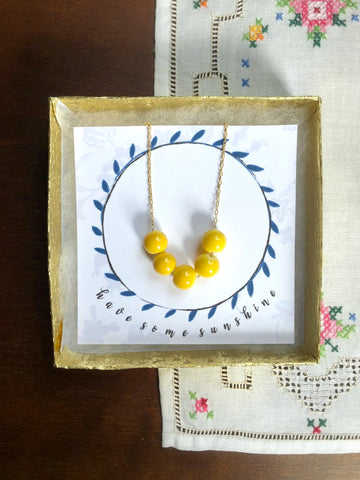 HAVE SOME SUNSHINE Necklace