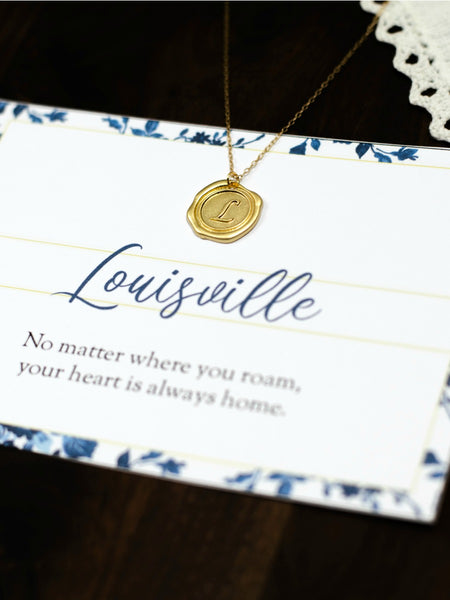 LOUISVILLE Kentucky Necklace