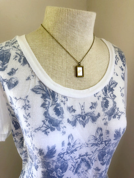 WEST VIRGINIA Gold Small Bronze Necklace