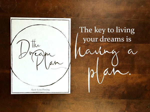 The Dream Plan Ebook | Digital Download