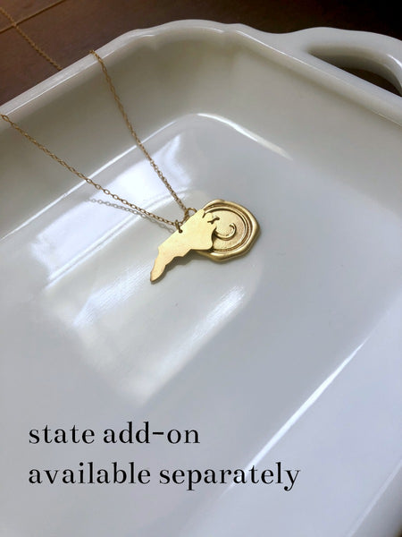 PRINCETON West Virginia Necklace