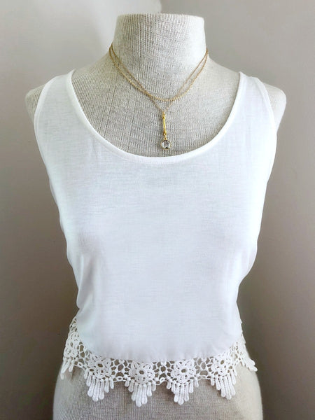 VIGILANCE Layered Gold Necklace