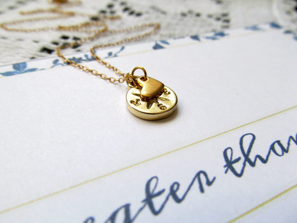 Love Is Greater Than Distance Necklace