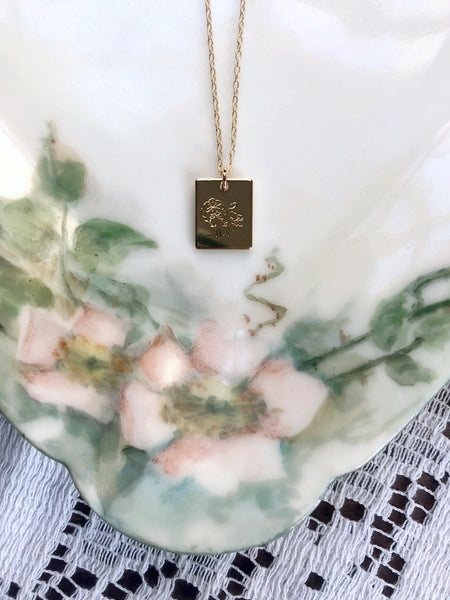GROW Necklace & Poem