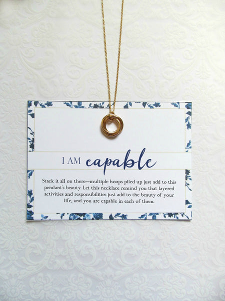 I AM CAPABLE Necklace