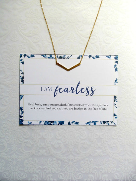 I AM FEARLESS Necklace